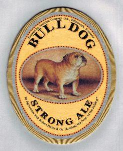 birra bulldog strong ale